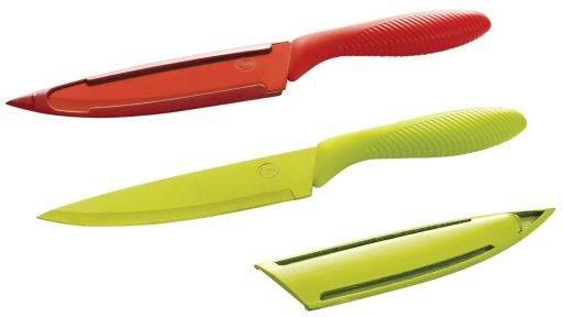 set de cuchillas essen colores. Cuchillos afilados. Consultá recetas y precios essen