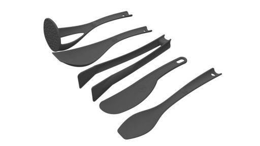 set de utensilios essen color negro. Ideal para realizar recetas essen. descubrí precios, promociones y ofertas essen